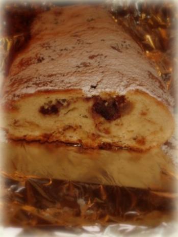 Amarena-Marzipan-Stollen; Weihnachtsgebäck - Rezept