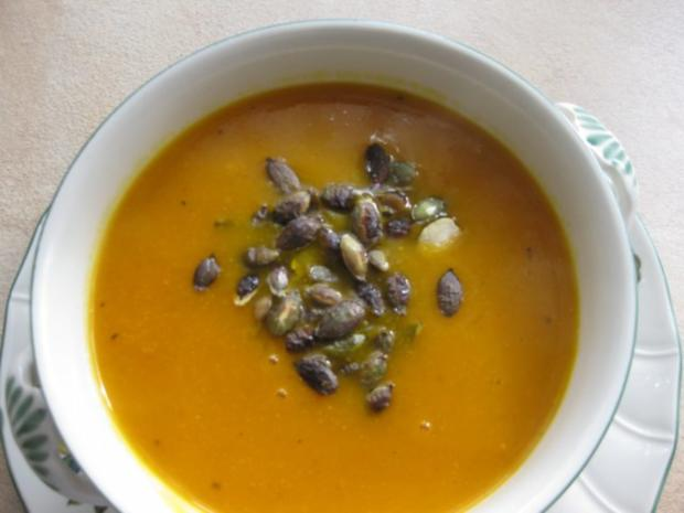 Kürbiscreme-Suppe - Rezept