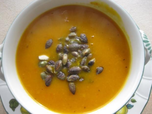 Kürbiscreme-Suppe - Rezept - Bild Nr. 7