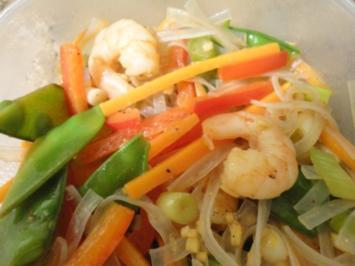Rezept: Asiatischer Nudelsalat