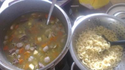 Leckere Suppe wie bei Muddern :) - Rezept