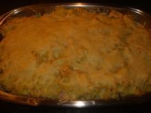 Kartoffel-Rosenkohl Stampf Auflauf - Rezept