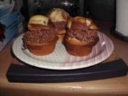 Reggie´s Spaghetti Muffin (Schwarz-Weiß) - Rezept