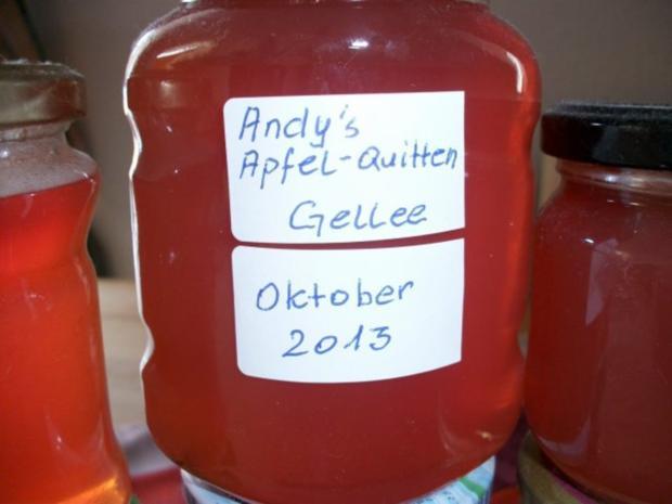 Andy´s  Apfel-Quitten Gelee - Rezept - Bild Nr. 4