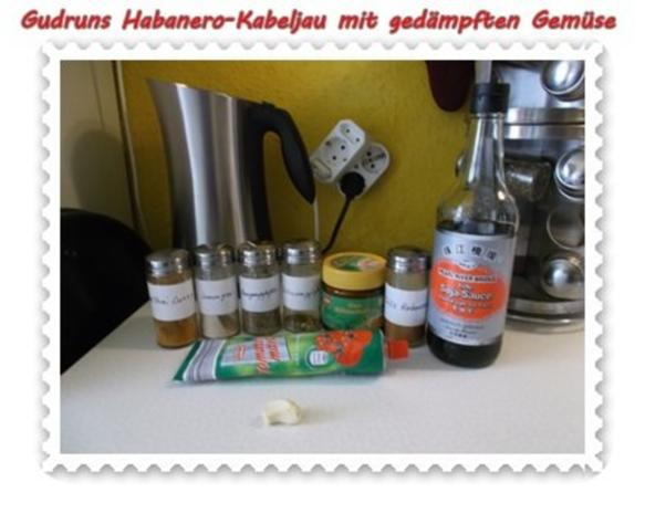 Fisch: Habanero-Kabeljau mit gedämpften Gemüse und Tomatensoße - Rezept - Bild Nr. 7