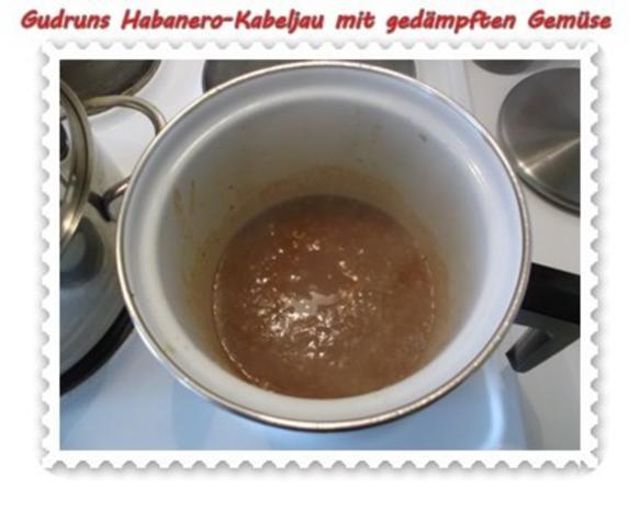 Fisch: Habanero-Kabeljau mit gedämpften Gemüse und Tomatensoße - Rezept - Bild Nr. 8