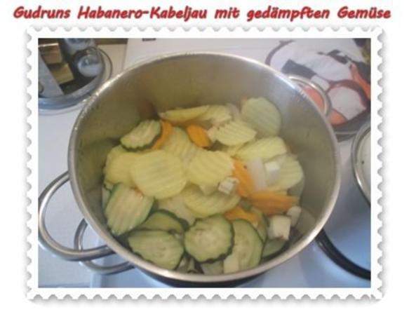 Fisch: Habanero-Kabeljau mit gedämpften Gemüse und Tomatensoße - Rezept - Bild Nr. 9