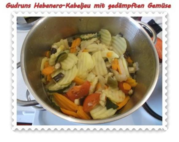Fisch: Habanero-Kabeljau mit gedämpften Gemüse und Tomatensoße - Rezept - Bild Nr. 10