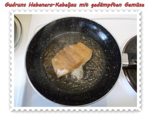 Fisch: Habanero-Kabeljau mit gedämpften Gemüse und Tomatensoße - Rezept - Bild Nr. 11