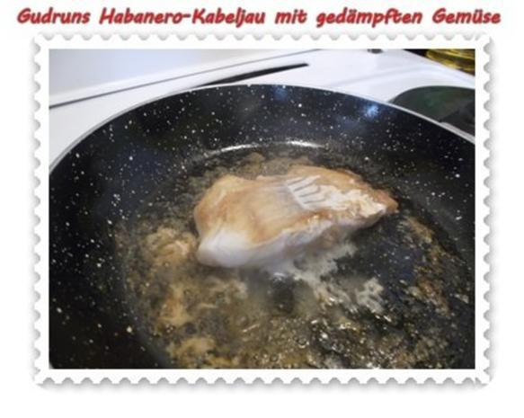 Fisch: Habanero-Kabeljau mit gedämpften Gemüse und Tomatensoße - Rezept - Bild Nr. 12
