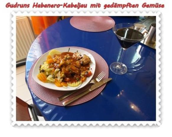 Fisch: Habanero-Kabeljau mit gedämpften Gemüse und Tomatensoße - Rezept - Bild Nr. 14