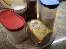 Brot/Brötchen: Milch-Knäcke mit Sonnenblumenkernen - Rezept