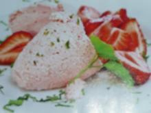 Erdbeermousse - Rezept