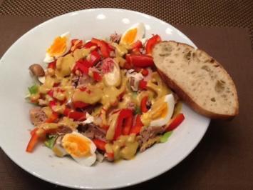 Rezept: Thunfischsalat  für den kleinen Hunger am Sonntagabend
