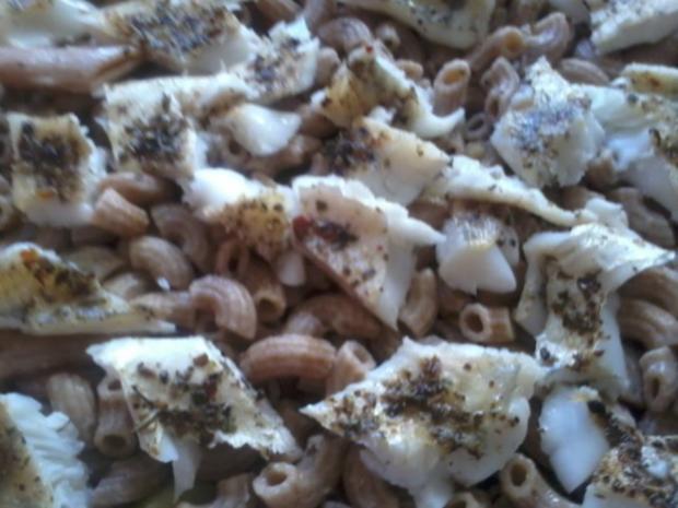 Zander-Nudelauflauf mit Gemüse und Steinpilzen - Rezept - Bild Nr. 9