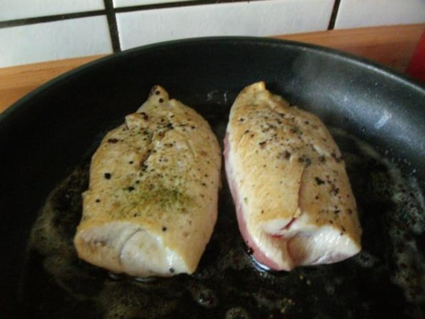 Putenfilet in Käse - Currysauce - Rezept - Bild Nr. 6