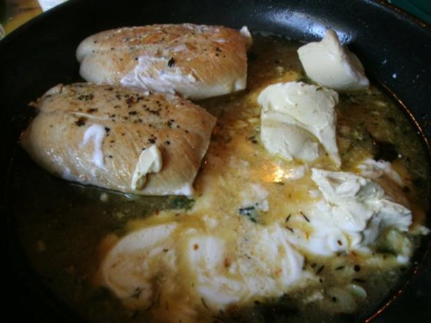 Putenfilet in Käse - Currysauce - Rezept - Bild Nr. 9