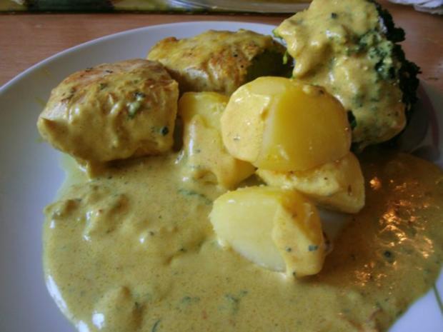 Putenfilet in Käse - Currysauce - Rezept - Bild Nr. 2
