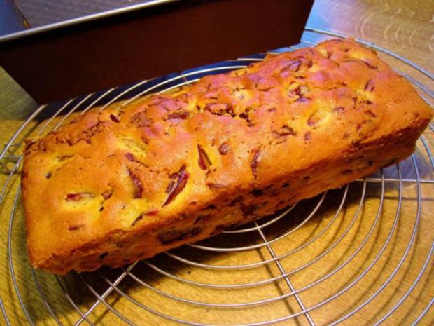 Pflaumenkuchen aus der Kastenform - Rezept
