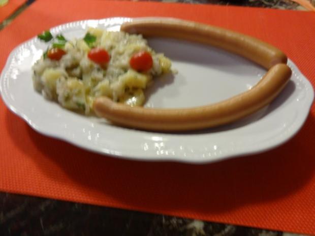 Ahab's Nuevo Kartoffelsalat mit Rettich - Rezept