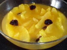 Orangenkompott - Rezept