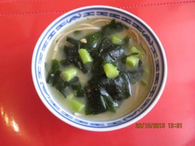 Suppe: Misosuppe mit Sobanudeln - Rezept
