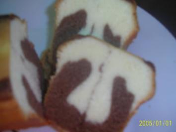 Kuchen: Saftiger Marmorkuchen - Rezept