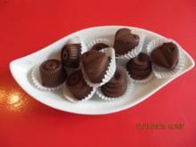 Pralinen mit cremiger Butterfüllung - Rezept