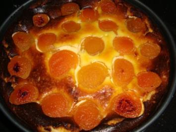 Aprikosen-Käsekuchen - Rezept
