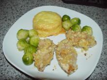 Putensteaks mit Macadamia-Kruste - Rezept