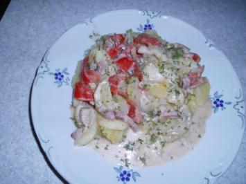 Schmorgurken mit Tomaten - Rezept