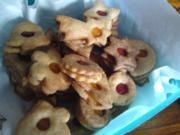 Omas Weihnachtsplätzchen BEST EVER fruchtige Butterkekse mit Erbeergelee Doppelkekse - Rezept