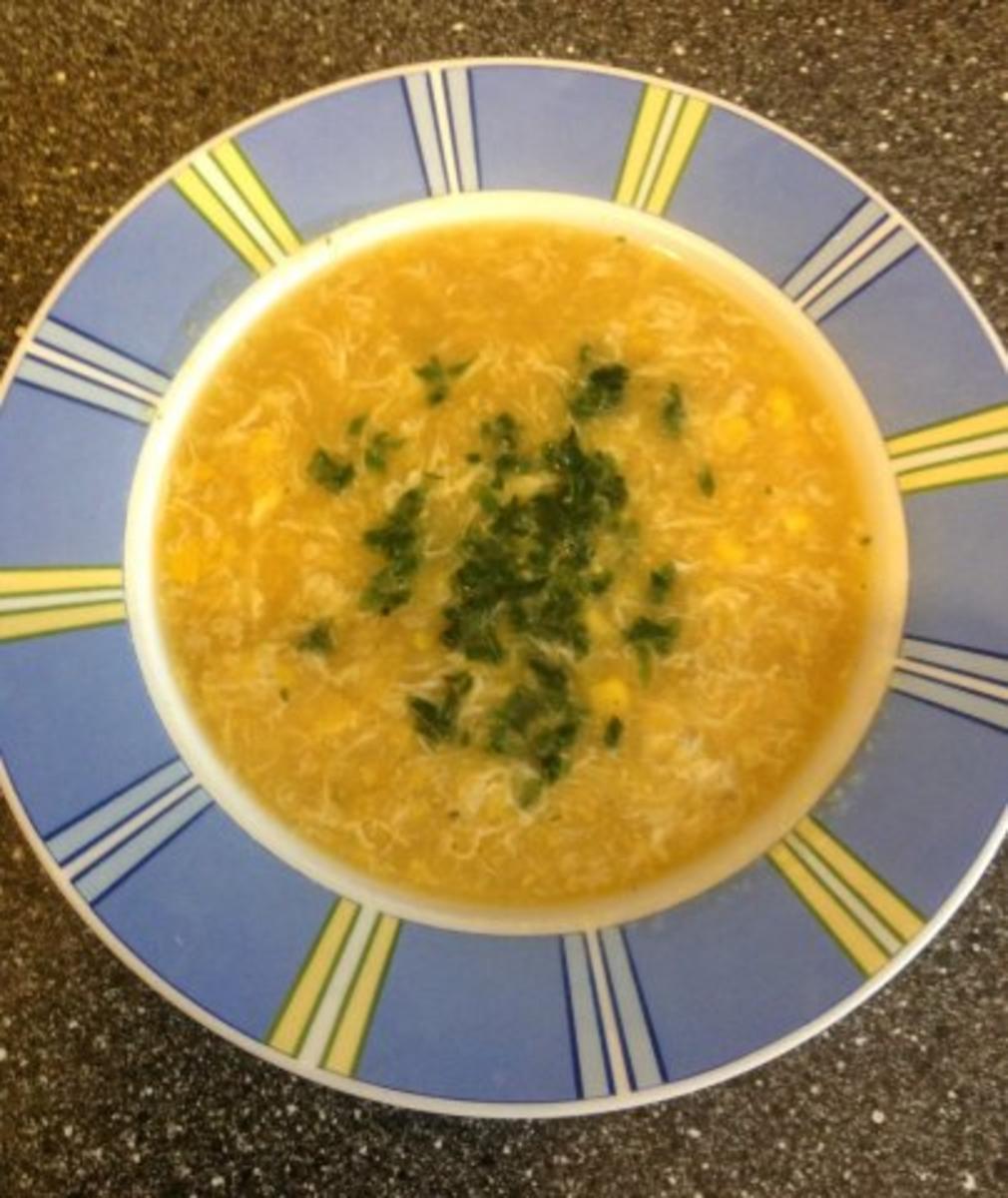 Maissuppe Asiatisch angehaucht - Rezept Von Einsendungen nannsi