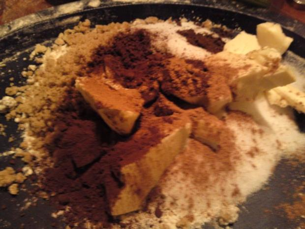 Omas Weihnachtsplätzchen BEST EVER Bärentatzen Kakaokekse Schokoladenplätzchen - Rezept - Bild Nr. 2