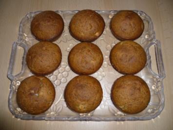 Kleingebäck - Kürbis-Mohn-Muffins - Rezept