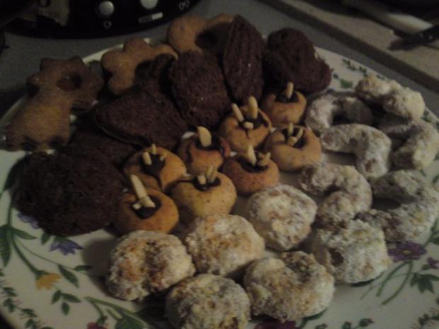 Stachelige nussigel Nuss-Igel Best Weihnachtsplätzchen EVER meiner Oma, mit Schokolade - Rezept - Bild Nr. 6