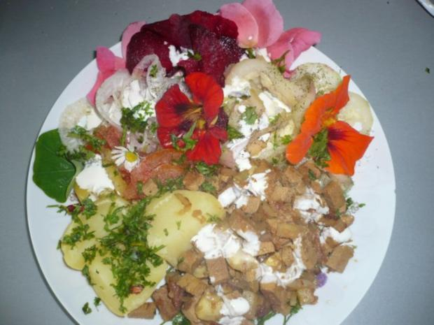 Rohkost mit Kartoffeln und Tofu eingelegt - Rezept - Bild Nr. 3