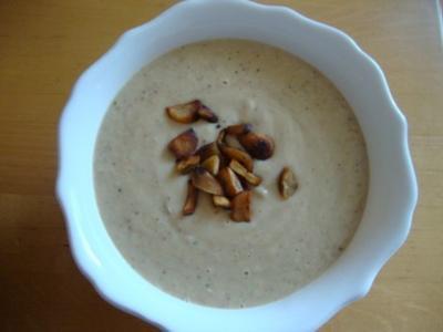 geröstete Maronensuppe - Rezept