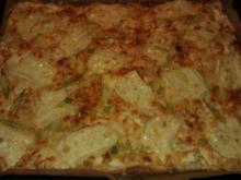 4-Käse Flammenkuchen - Rezept
