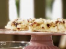 Apfel-Cremekuchen mit Cranberry-Streuseln (Daniel Bader) - Rezept