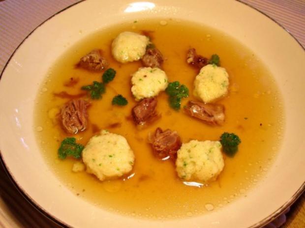 Steinpilz-Butterklößchen ... - Rezept - Bild Nr. 5