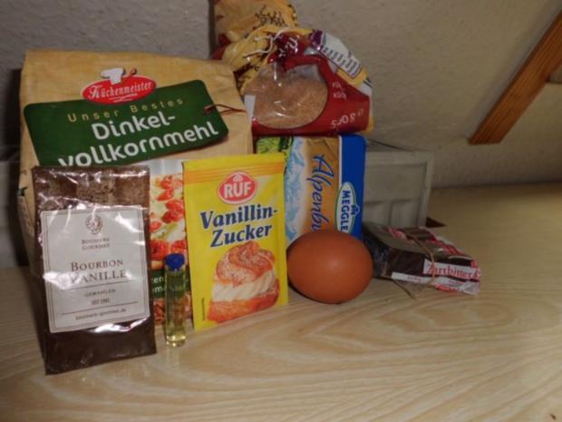 Plätzchen: Vollkorn-Vanille-Kekse - Rezept - Bild Nr. 2