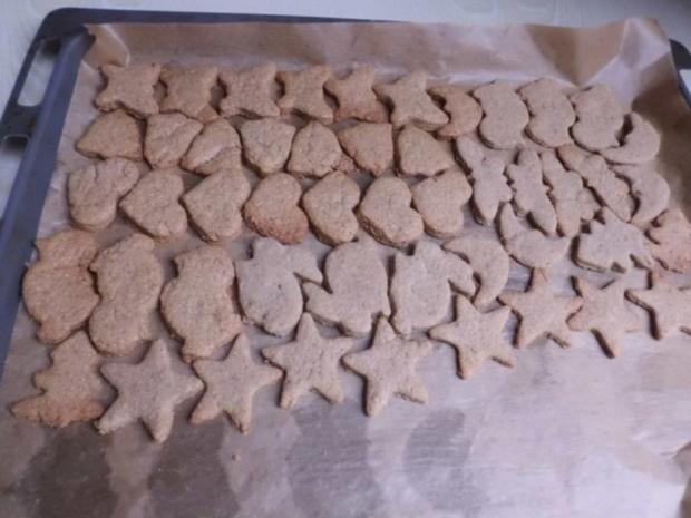 Plätzchen: Vollkorn-Vanille-Kekse - Rezept - Bild Nr. 3
