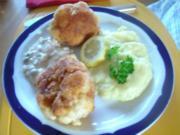 Gebackener Blumenkohl mit Tatarsauce und Kartoffelcreme ( Nach Ivanka ! ) - Rezept