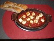 Feta-Tomaten gebacken - Rezept