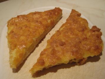 Toast mit Käse-Creme überbacken - Rezept