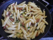Vegan : Bunte Pfanne mit Sojaleberkäse - Rezept