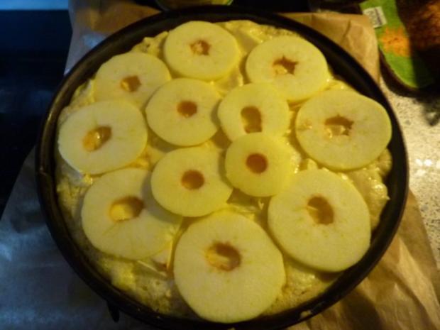 Kuchen: Apfelkuchen mit Guß - Rezept - Bild Nr. 11