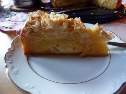 Kuchen: Apfelkuchen mit Guß - Rezept