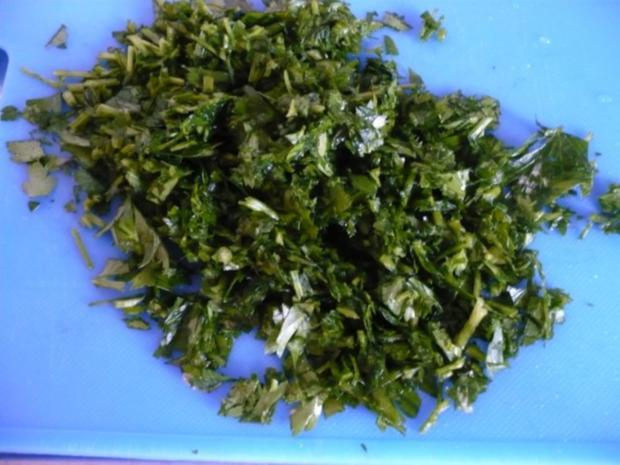 Rote Bete - Blätter Salat - Rezept - Bild Nr. 7